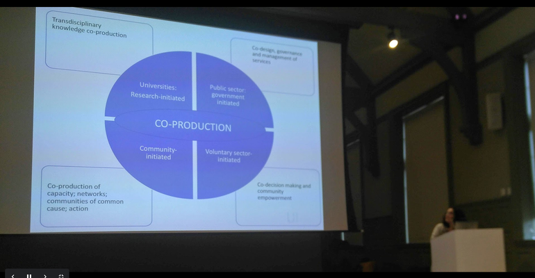 Who initiates co-production and why? - Beth Perry (University of Sheffield) sets the scene for a discussion of principles and values.