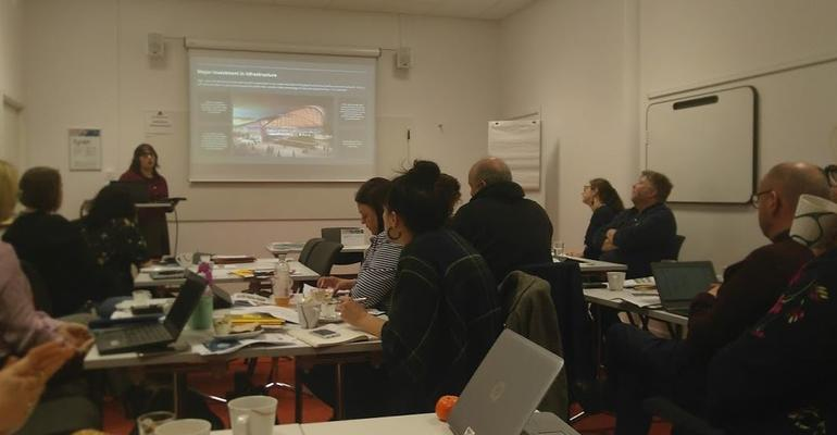 Jam and Justice learning exchange -- workshop 1 with Gothenburg Region