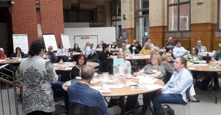 Deliberative Commissioning: an overview of the event in the Engine Room at the People's History Museum, Manchester