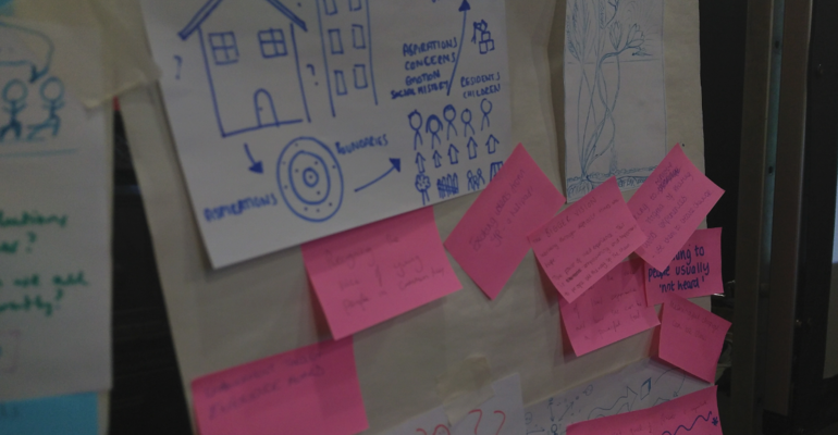 Sketching co-production: snapshot of responses to the drawing exercise